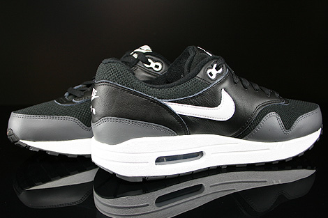 Nike Air Max 1 GS Black White Dark Grey Inside