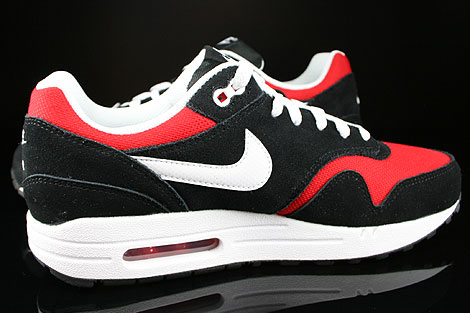 Nike Air Max 1 GS Black White University Red Inside