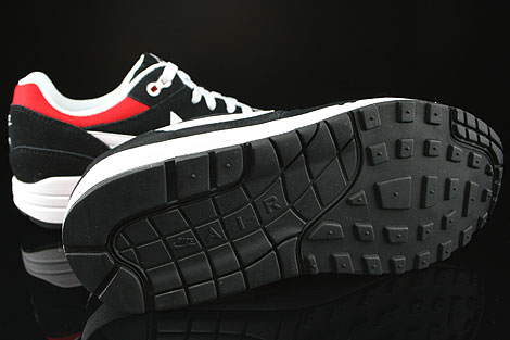 Nike Air Max 1 GS Black White University Red Outsole