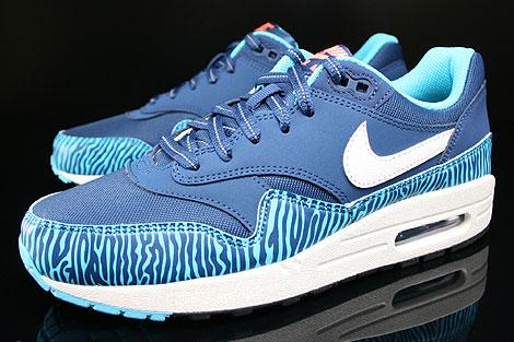 nike air max 1 zebra blue