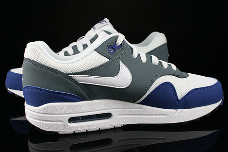 Nike Air Max 1 GS Deep Royal Blue White Armory Slate Black Inside