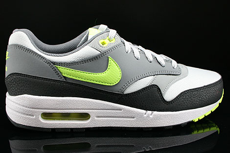 Nike Air Max 1 GS Dusty Grey Volt Cool Grey Metallic Silver