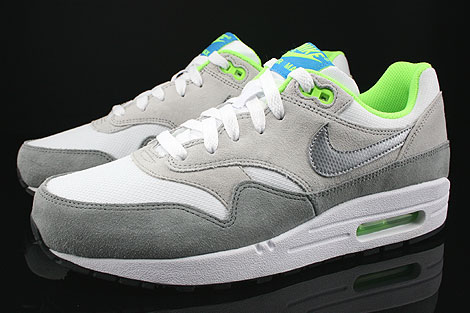 Air Max 1 Green Grey White