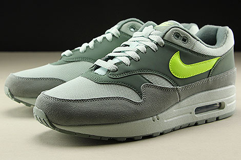 Nike Air Max 1 Mica Green Volt Clay Green Sidedetails