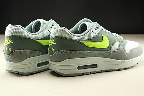 Nike Air Max 1 Mica Green Volt Clay Green Back view