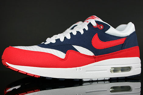nike air max 1 blue and red