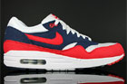 Nike Air Max 1 Midnight Navy Red White Neptune Blue
