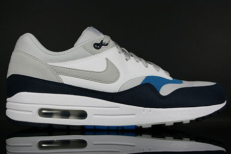 Nike Air Max 1 Neutral Grey Obsidian Imperial Blue