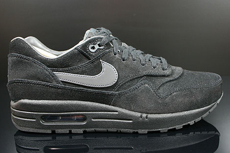 Nike Air Max 1 Premium Black Anthracite Anthracite 512033
