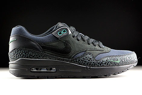 Nike Air Max 1 Premium Black Black Bonsai