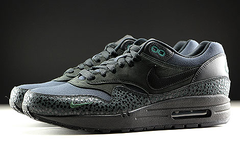 in stock 2c722 b2277 ... Nike Air Max 1 Premium Black Black Bonsai Profile ...