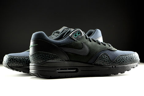 Nike Air Max 1 Premium Black Black Bonsai Inside