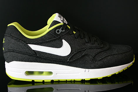 Nike Air Max 1 Premium Black White Cyber Cool Grey