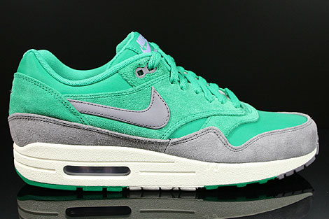 Nike Air Max 1 Premium Stadium Green Charcoal Sail