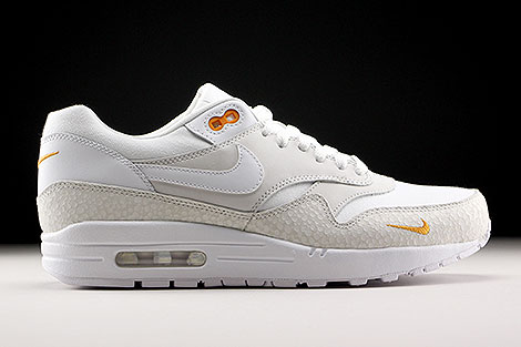 Nike Air Max 1 Premium White White Kumquat