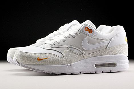 Air Max 1 Premium White Kumquat