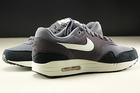 Nike Air Max 1 Thunder Grey Sail Black Inside