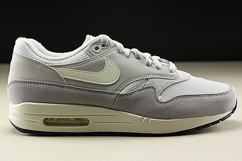 meet b1cee d616f ... Nike Air Max 1 Vast Grey Sail Wolf Grey Right ...