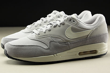 Nike Air Max 1 Vast Grey Sail Wolf Grey Profile