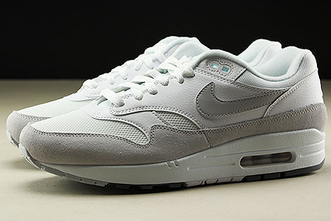 Nike Air Max 1 White Pure Platinum Cool Grey Profile