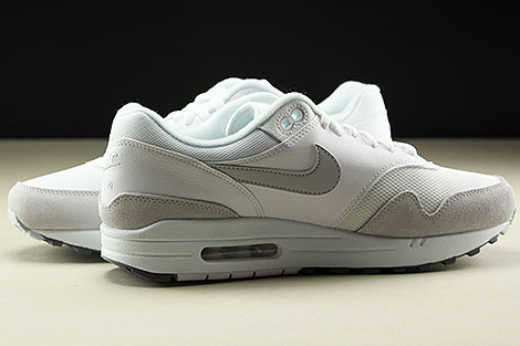 Nike Air Max 1 White Pure Platinum Cool Grey Inside