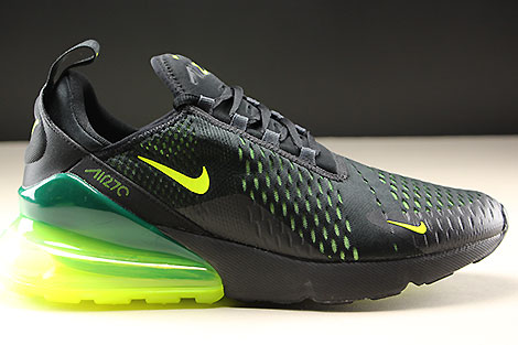 9c6d1153b7 Nike Air Max 270 Black Volt Black Oil Grey AH8050-017 - Purchaze