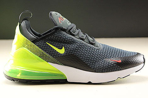4857542483 Nike Air Max 270 SE Anthracite Volt Black AQ9164-005 - Purchaze