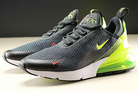 Nike Air Max 270 SE Anthracite Volt Black Seitendetail