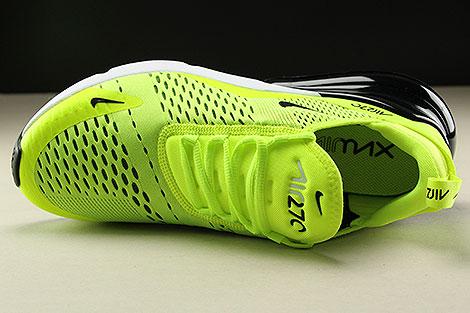 Nike Air Max 270 Neongelb Schwarz Weiss Oberschuh