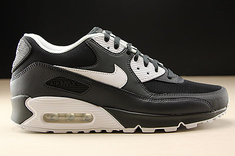 Nike Air Max 90 Essential Anthracite White Black 537384 089