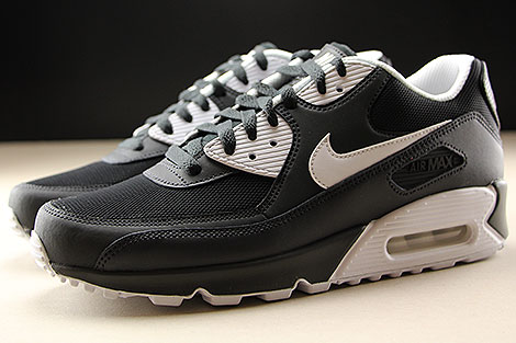 Nike Air Max 90 Essential Anthracite White Black Profile