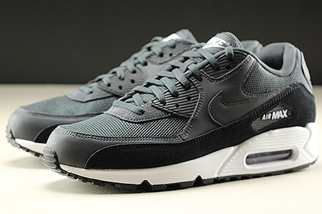 Nike Air Max 90 Essential Anthracite White Black Sidedetails