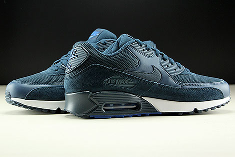 Nike Air Max 90 Essential Armory Navy Blue White Inside