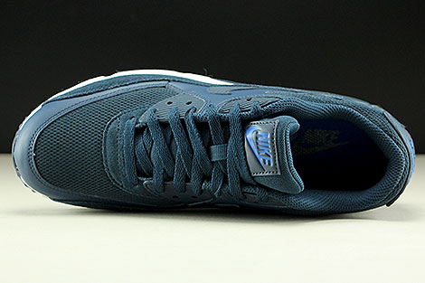 Nike Air Max 90 Essential Armory Navy Blue White Over view
