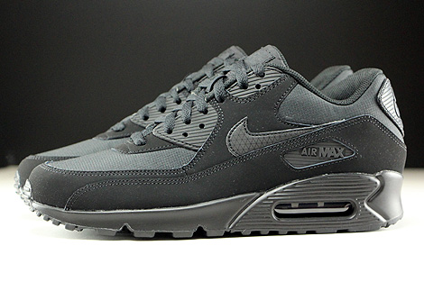 Nike Air Max 90 Essential Black Black Profile