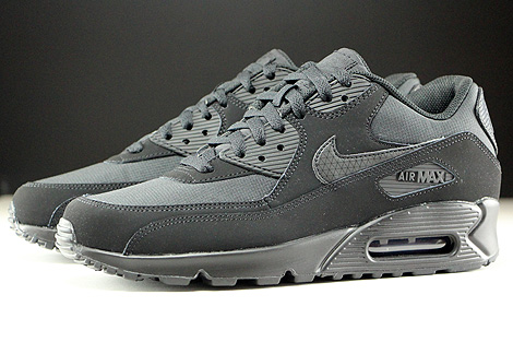 Nike Air Max 90 Essential Schwarz Seitendetail