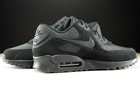 Nike Air Max 90 Essential Black Black Inside