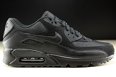 Nike Air Max 90 Essential Black Black Black Black Right