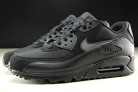 Nike Air Max 90 Essential Black Black Black Black Profile
