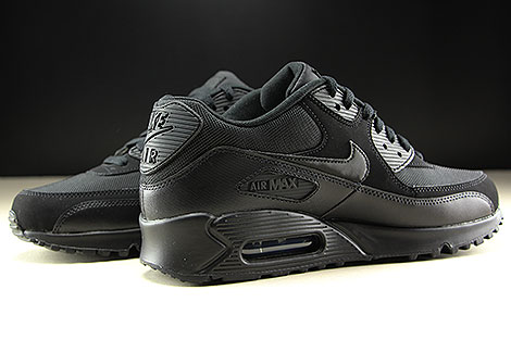 Nike Air Max 90 Essential Black Black Black Black Inside