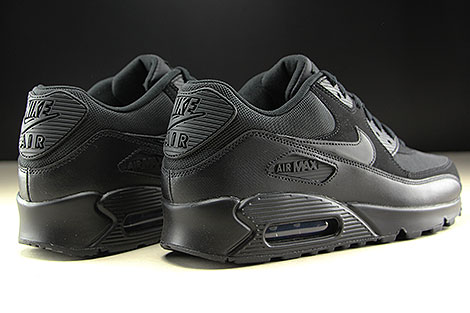 Nike Air Max 90 Essential Black Black Black Black Back view
