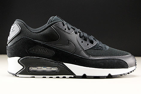 size 40 48e3a 6c668 ... Nike Air Max 90 Essential Black Black White Right ...