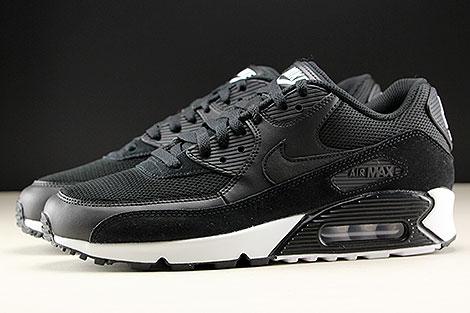 Nike Air Max 90 Essential Black Black White Profile