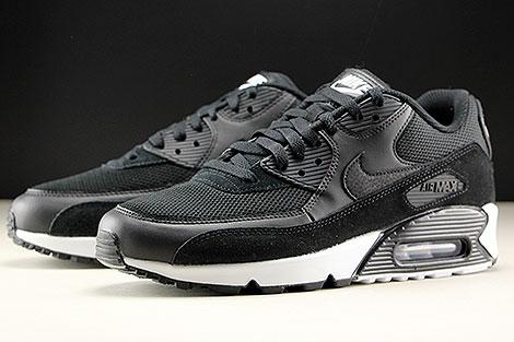 Nike Air Max 90 Essential Black Black White Sidedetails