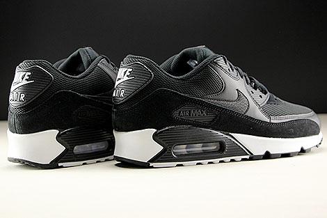 Nike Air Max 90 Essential Black Black White Back view