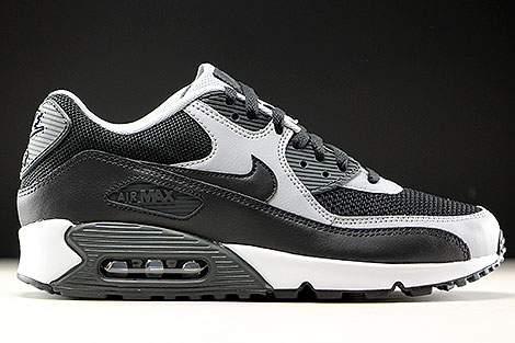Nike Air Max 90 Essential Black Wolf Grey White