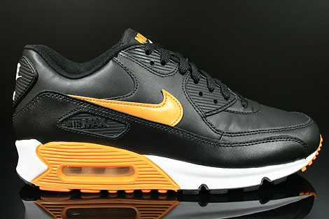 Air Max 90 Schwarz Orange