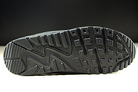 Nike Air Max 90 Essential Black Metallic Silver Outsole