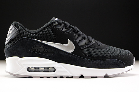 nike air max 90 metallic silver