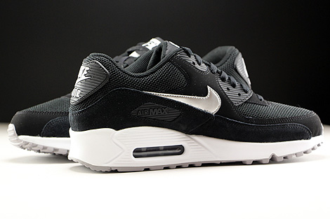 Nike Air Max 90 Black And White Suede